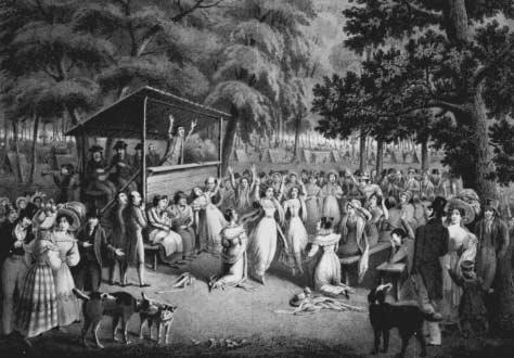explain the emotionalism of a cane ridge experience To cane ridge they came and at cane ridge they intended to make camp and join a vibrant worship experience a new american tradition was in the making perhaps new to the sacramental occasion was the intentional bringing along of tents and camping provisions camp meetings were taking on a life of their own.