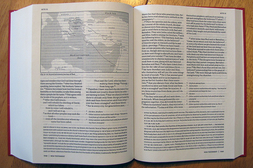 The new oxford annotated bible with the apocrypha 2010 hardcover.