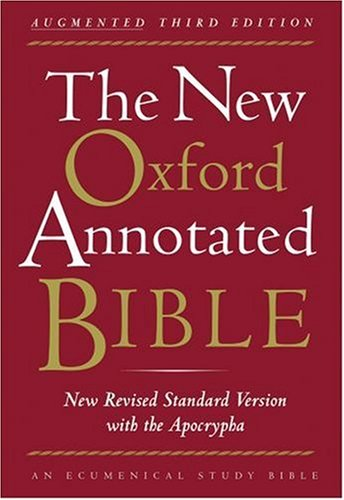 New English Bible, Oxford Study Bible Review - YouTube