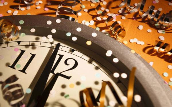 new-years-clock
