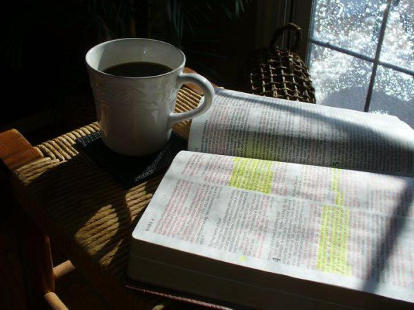 coffee-and-bible