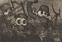 Post-WW I artist Otto Dix captured the horrors of war and the Great Depression soon thereafter.