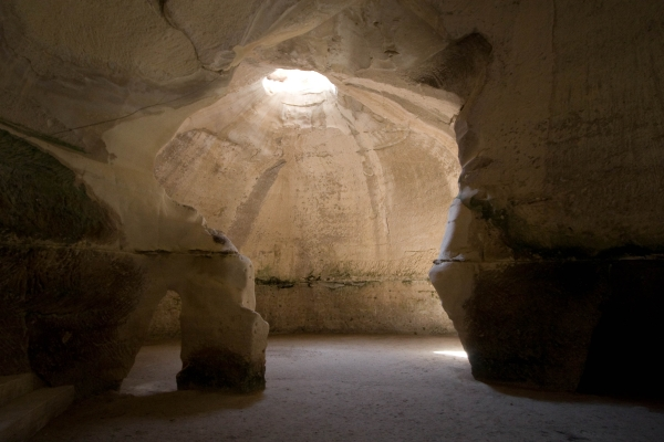Caves throughout Palestine are big enough to shelter hundreds of troops. According to 1 Samuel, David and his Mighty Men used caves extensively to escape King Saul.